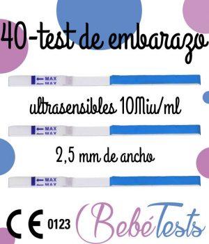 40 TEST EMBARAZO 25